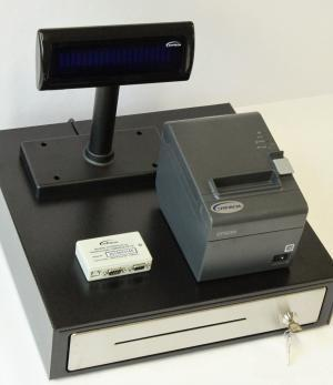 POS System ALTERA EJ4 with the Fiscal Memory Module EMPIRIJA FB15