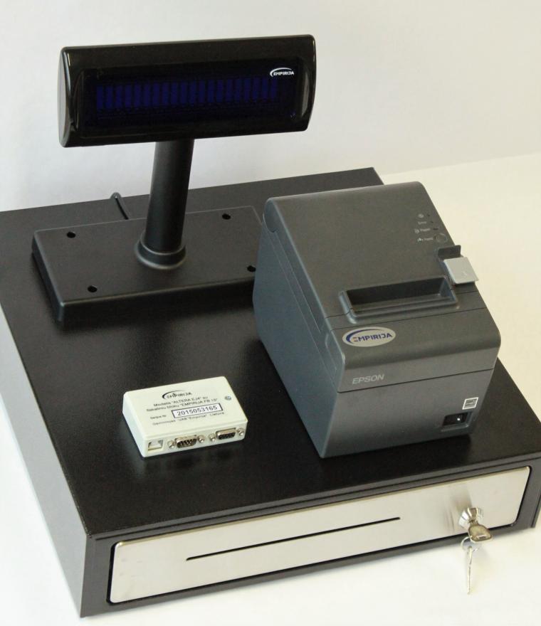 Elektroninių kasos aparatų ir kompiuterinių kasos sistemų (POS) aptarnavimas