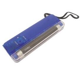 Pinigų tikrinimui aparatas – žibintuvėlis UV 4W