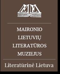logo maironio muziejus