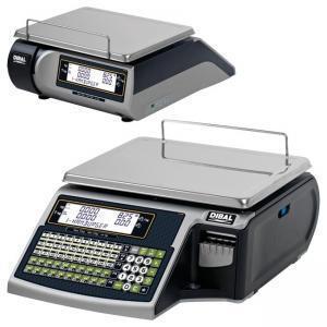 Prekybinės svarstyklės su spausdintuvu Dibal T-535