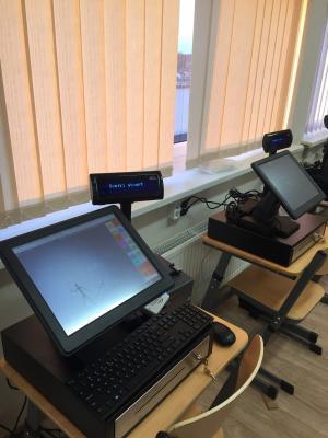 CompuCash verslo valdymo pragramos praduotuvių modulis mokymo įstaigoje